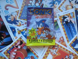 SONIC Official Sega Sticker Album