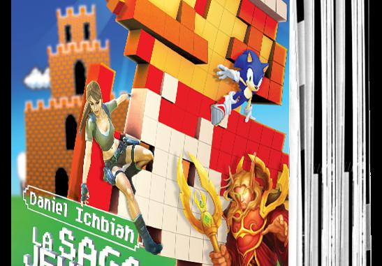 la saga jeux vidéo en livre
