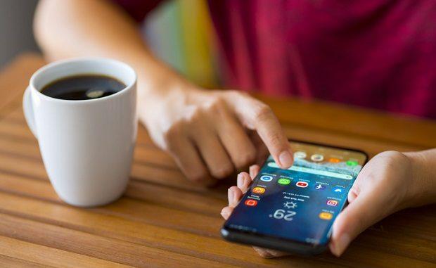 téléphone Samsung sous Android