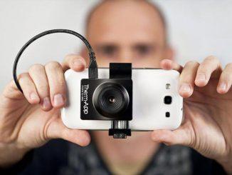 camera thermique de téléphone